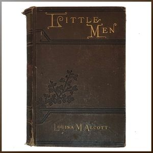 Vintage Accents - Little Men - 1892 - Louisa Mae Alcott